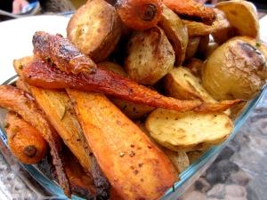 Bulvių ir morkų garnyras